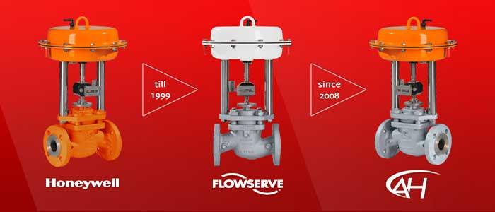 honeywell control valves