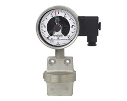 گیج اختلاف فشار سوئیچ دار ویکا DPGS43