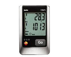 دیتالاگر دما، رطوبت و فشار محیطی testo 176p1